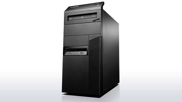 Lenovo ThinkCentre M93P TWR PC, Intel Quad-Core i7-4770 3.40GHz Processor, Win Pro
