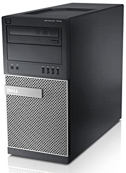 Dell Optiplex 7010 Tower PC, Intel Quad Core i5-3570 3.40 GHz Processor, Windows 10 Pro