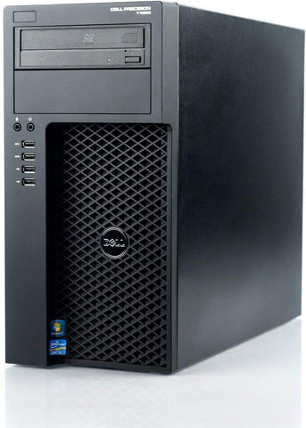 Dell Precision T1650 Tower Workstation PC, Intel Quad Core i7-3770 3.4 GHz Processor, Windows 10 Pro