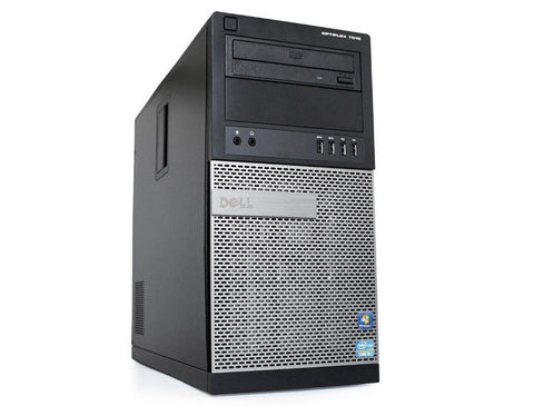 Dell Optiplex 7010 Tower PC, Intel Quad Core i5-3470 3.1 GHz Processor, Windows 10 Pro