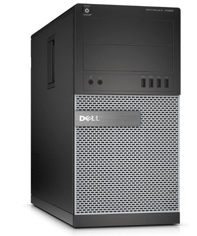Dell Optiplex 7020 Tower, Intel Quad Core i5-4570 3.20 GHz Processor, Windows 10 Pro