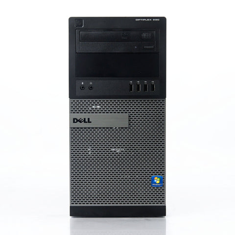 Dell OptiPlex 990 Mini Tower PC, Intel Quad-Core i7-2600 3.4GHz Processor, Win 10 Pro