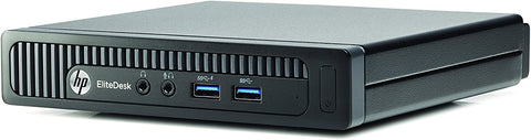 HP 800 G1 EliteDesk Mini PC, Intel Quad-Core i7-4785T 2.20 GHz Processor, Win 10 Pro