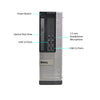 Dell OptiPlex 9010 SFF PC, Intel Quad-Core i5-3470 3.2GHz Processor, Win 10 Pro
