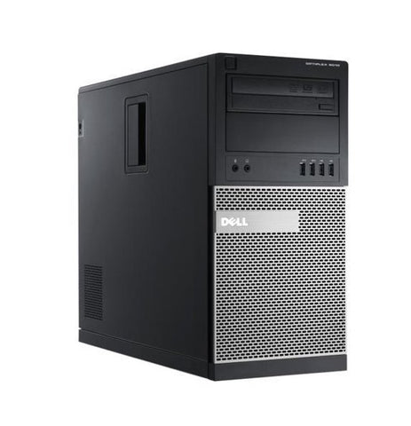 Dell OptiPlex 9010 Tower PC, Intel Quad-Core i5-3470 3.2GHz Processor, Win 10 Pro