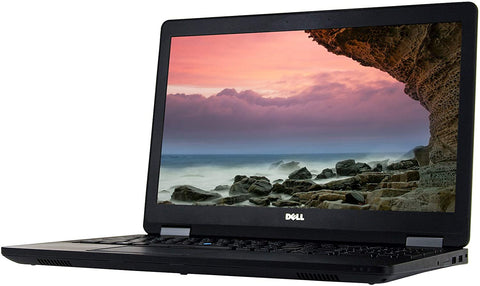 "Dell Latitude E5570 15.6"" Intel Dual-Core i7-6600U 2.6GHz Processor, NO Webcam, Windows 10 Pro"