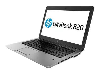 "HP EliteBook 820 G2 Laptop, 12.5"" Display, Intel Core i5-5300U 2.3GHz, Win 10 Pro"