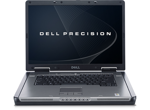 "Dell Precision M90 Workstation Laptop, 17"" Display, C2D 2.0GHz, Nvidia FX 2500 Win 7 Pro"