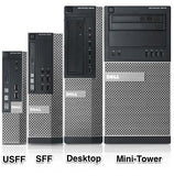 Dell OptiPlex 9010 Tower PC, Intel Quad-Core i7-3770 3.4GHz Processor, Win 10 Pro