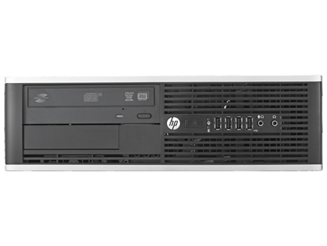 HP 8200 Elite SFF PC, Intel Quad-Core i7-2600 3.4GHz Processor, Win 10 Pro