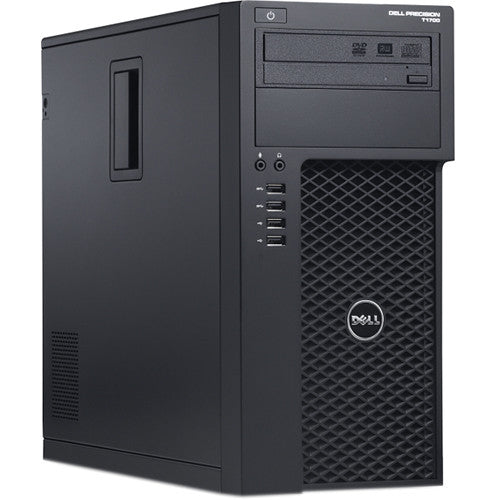 Dell Precision T1700 Tower Workstation PC, Intel Quad Core i7-4790 3.60 GHz Processor, Windows 10 Pro