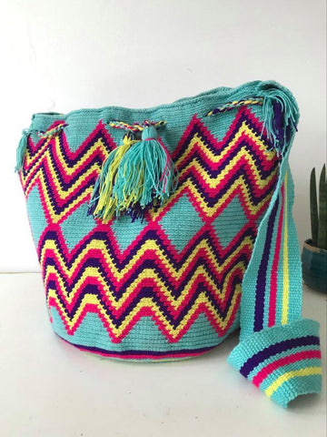 Wayuu Bag stripes