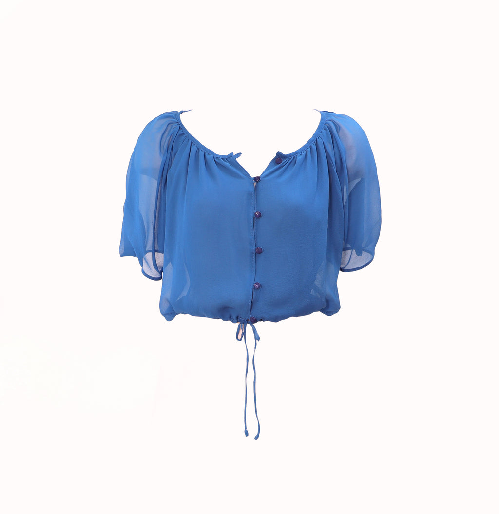 Handkerchief Silk Georgette Blouse
