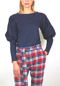 Mutton Sleeve Top D 29