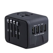 International Power Adapter Universal Adaptor All In 1 Worldwide 4 USB Traveling Charger