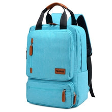 Backpacks 15.6 inch Laptop Anti-theft Nylon Backpack