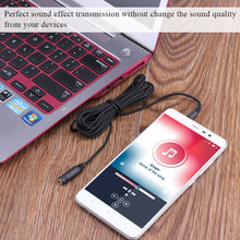 Fornorm 3.5mm Jack Female to Male Earphone Headphone Audio Extension Cable Cord for Speaker Phone 3m