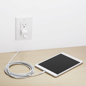 Lightning to USB A Cable - Apple MFi Certified - White