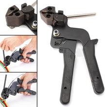 Heavy Duty Cable Tie Tool Carbon Steel Cable Fasten Pliers Crimper Tensioner Cutter For Hand Tool