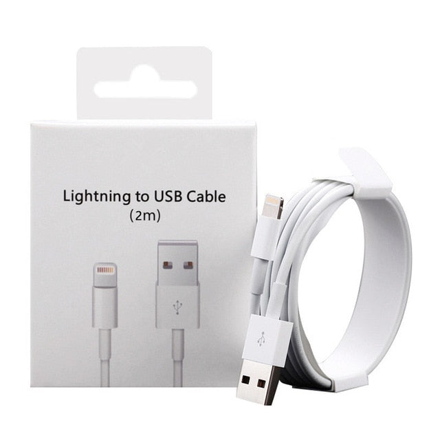 Charging Cable For iPhone 5 5S 6 6S 7 8 Plus Fast Charger