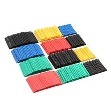 70/127/530PCS Heat Shrink Tubing Polyolefin Electrical Wrap Wire Cable Sleeves PE Insulation 2:1Shrinkable Tube Assortment Kit