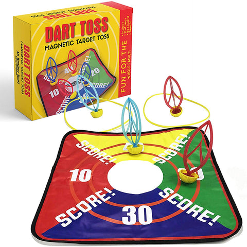 Lawn Darts | Dart Toss | Target Toss | Garden, Lawn, Yard, Beach, Outdoor, Indoor & Backyard Games | This Toy is Perfect for all Ages | Fun for the Whole Family | Outdoor Tossing Game | Toys - Games -  All Weather Sport