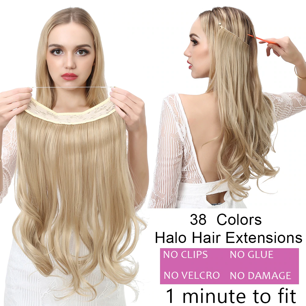 Invisible Halo Hair Extensions |Hair Accessories |Shadesandbeauty.com
