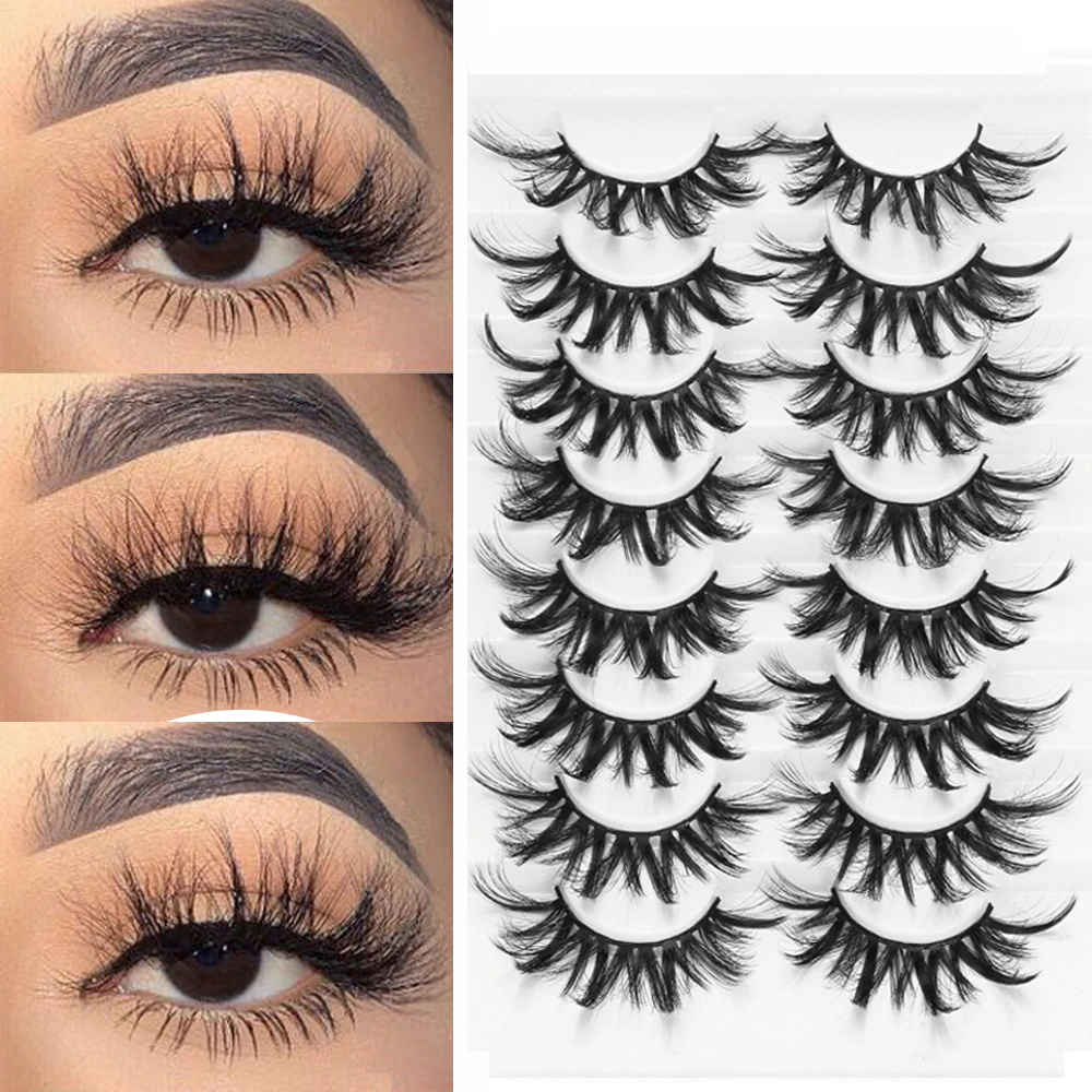 Handmade Natural False Eyelashes | Makeup | Shadesandbeauty.com