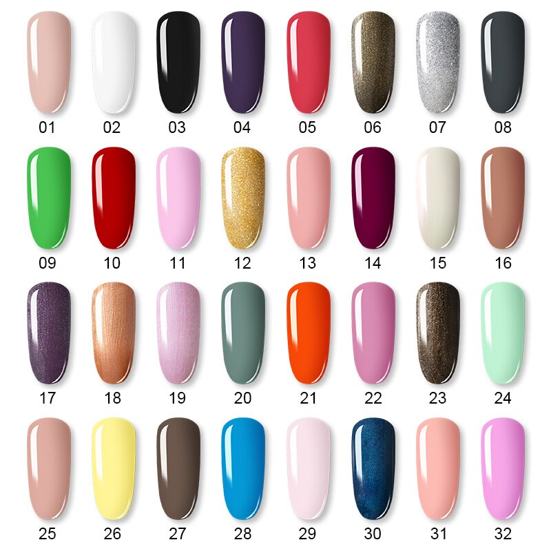 Amazing Nail Gel Polish Set | Girl Things | Shadesandbeauty.com