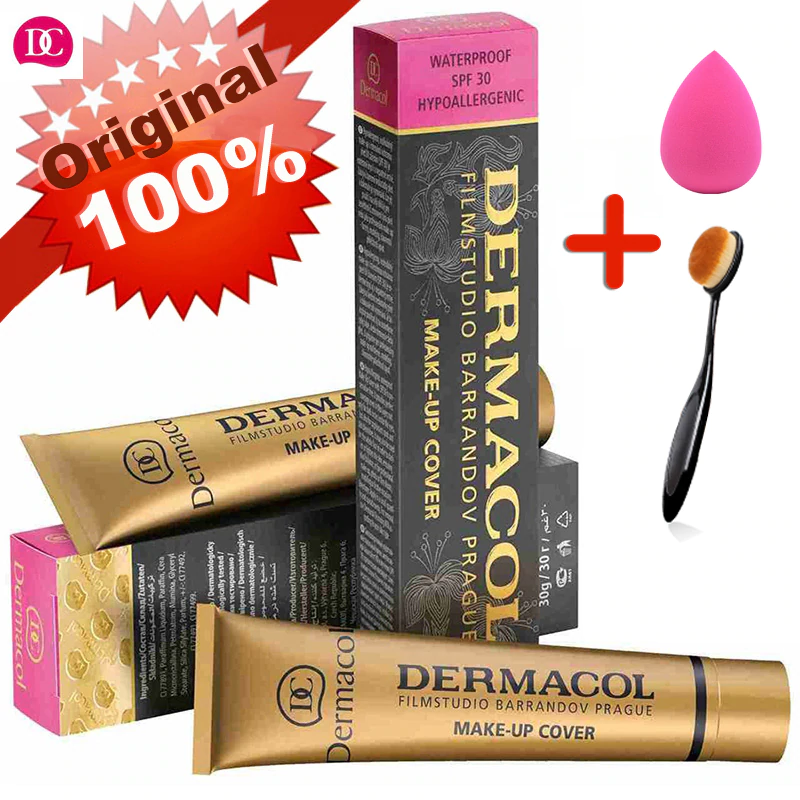 Dermacol Makeup Cover Authentic 100% 30g Primer Concealer -