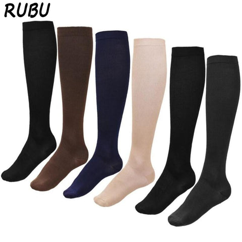 Fashion Compression Socks Man Medical Care Sock Comfortable Women's Anti-fatigue Compression Socks For Travel 8AD-QR494