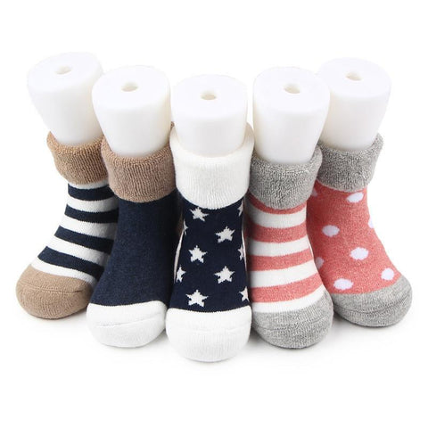2017 New Style Cotton Sports Sock  for Girls Toddler Kids Printing Sock