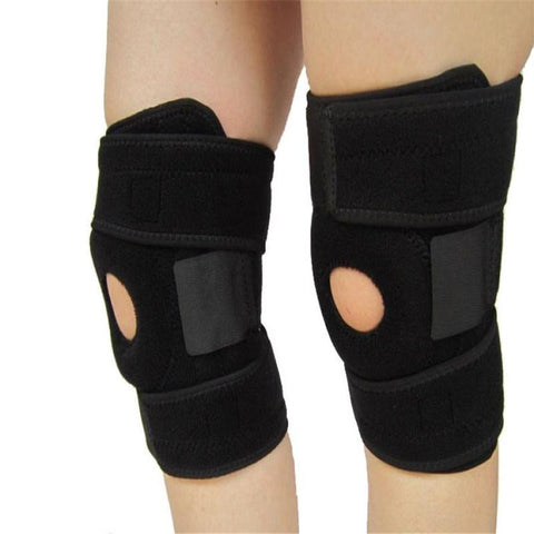1PC Neoprene Elastic Open Patella Adjustable Basketball Kneepad Knee Protector Support Pad Brace#YL31