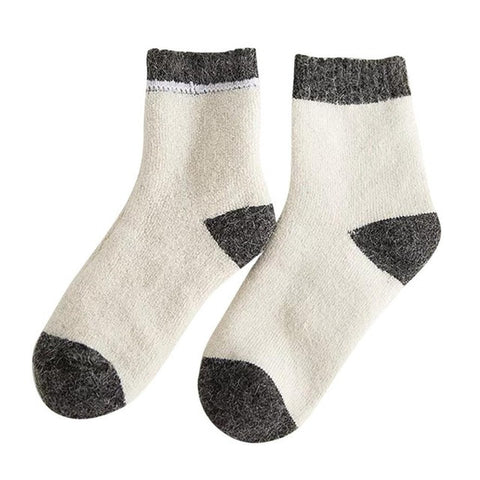Women Sport Socks Mens Knitted Wool Socks Warm Winter 2017