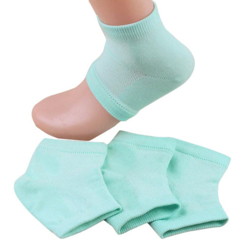 Heel Socks for Dry Hard Cracked Skin Moisturising Open Toe Recovery Yoga Sock#YL