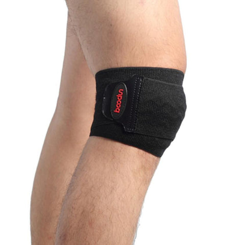 Adjustable  Protector Football Kneepad  Gym Knee Brace Convolve Epoxy BandageTraining Outdoor Sport Safety Protectors #YL
