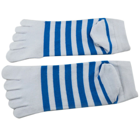 New arrival 1 Pair Men Ventilation Socks Combed Cotton Meias Sports Five Finger Socks Toe Socks#20
