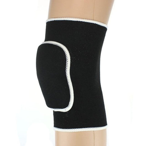 Soft Elastic Sports Leg Knee Support Brace Wrap Protector Knee Pads Kneepads Volleyball Knee Protection#F6