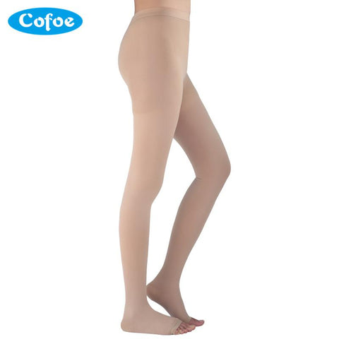 A Pair Medical Varicose Veins Socks 15-21mmHg Pressure Level 1 Pantyhose Socks Varicose Veins Sock Compression Socks Health Care