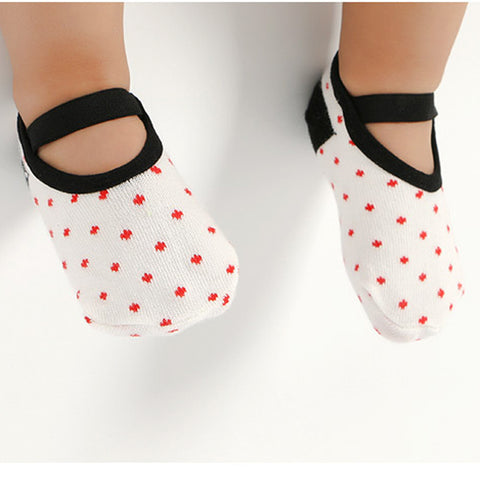 New Baby Socks Warm Boy Girls Cotton Socks Dot Soft Infant Floor Sock Anti Slip Toddler Home Wear Autumn Winter Baby Accessories
