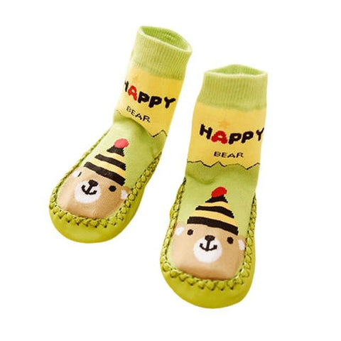 Baby Cartoon Toddler Anti-slip Sock Kids Warm Socks
