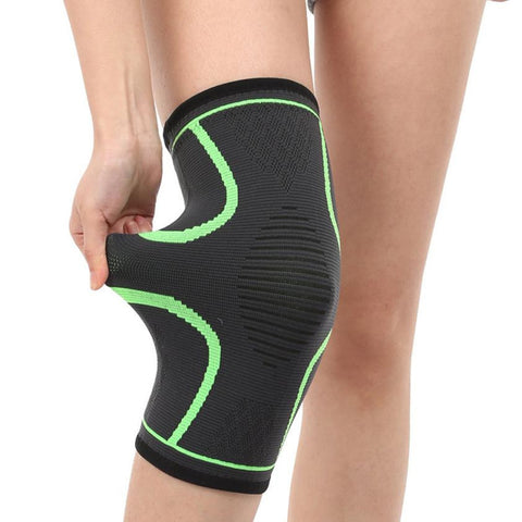 Drop Shipping 2pc Professional Compression Knee Pads Sport Safety Support Knee Wrap Guard Protection for Fitness Basketball #S0