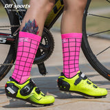DH SPORTS Professional Riding Cycling Socks Breathable Outdoor Exercise Sports Socks Compression Athletic Socks for Men Women
