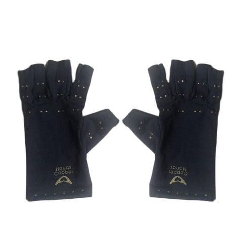 Copper Fiber Sports Health Gloves Half Finger Gloves Promoting Blood Circulation Health Care Products