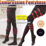 Popular Women Girl Compression Burn Body Leg Shaper Fat Thin Stocking Pantyhose W715