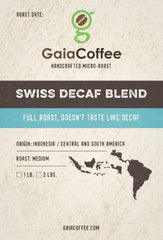 Swiss Decaf Blend - Case (1944326570026)