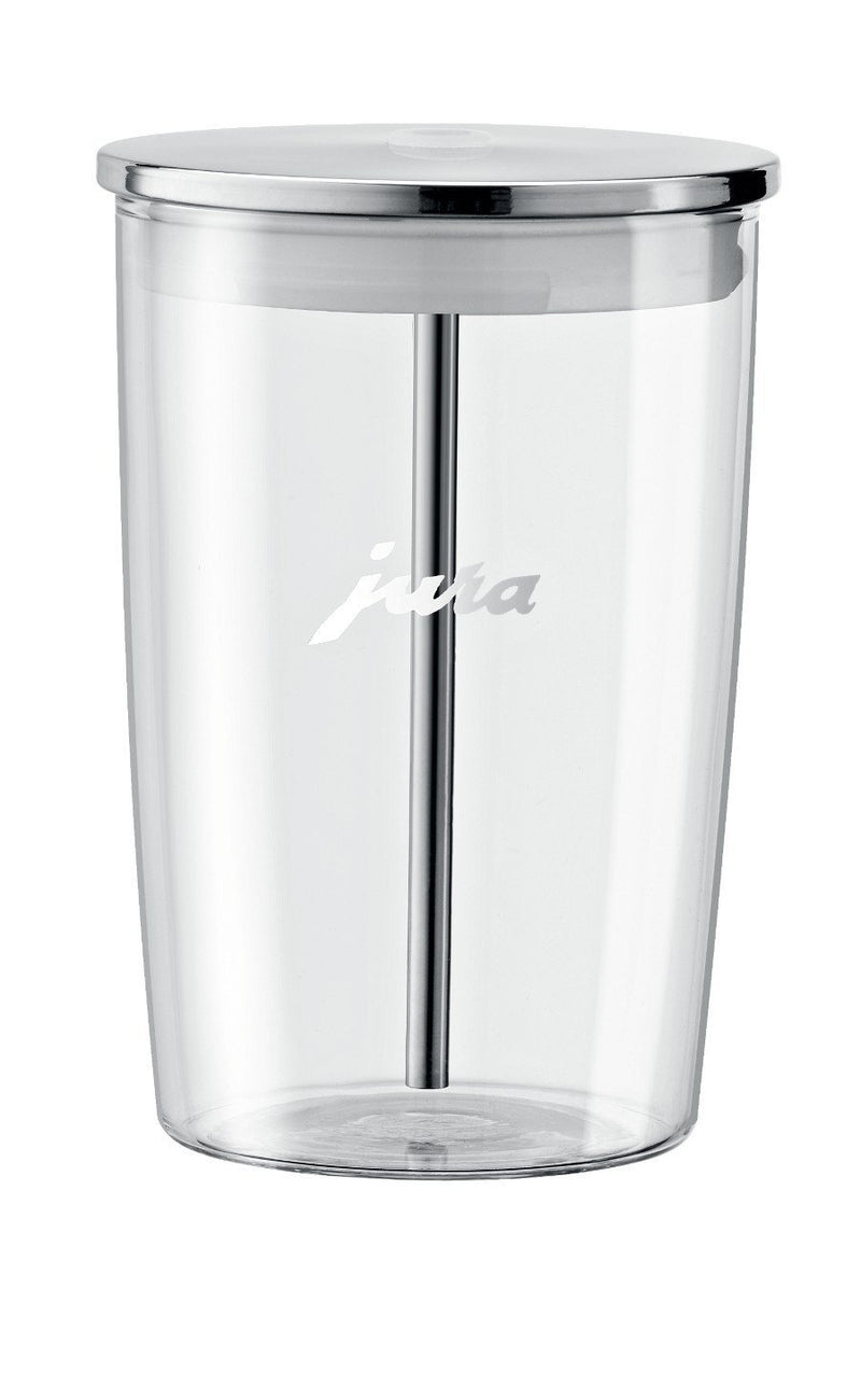 Glass milk container (1440000573482)