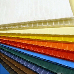 Coroplast 4' x 8' Sheet - Colors (4 mm thick)
