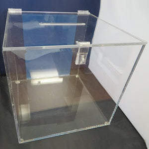 "Draw Box - Clear (12"" x 12"" x 12"")"