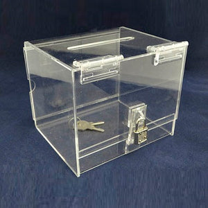 "Draw Box - Clear (4""w x 6""h x 4d)"